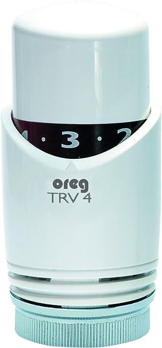 Viessmann Thermostat TRV4 ohne Nullstellung weiss//weiss