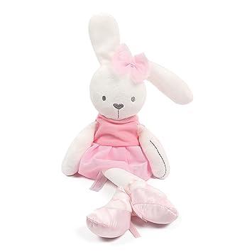 YeahiBaby Juguetes de Peluche de Conejo Suave Bebé Dormir Confort Muñeca Juguetes de Peluche Bebé Niñas