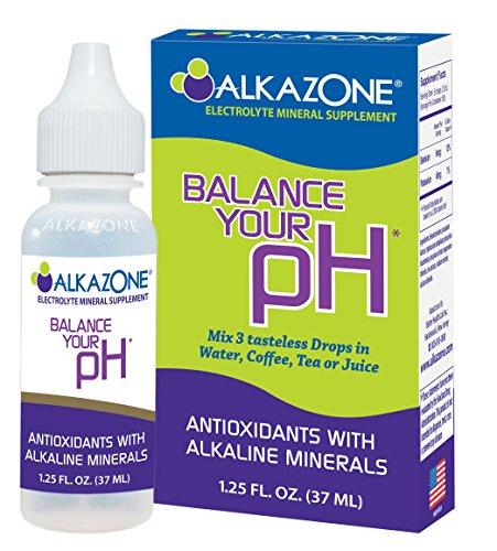 ALKAZONE Balance Your pH (Antioxidants Alkaline Mineral Booster & Supplements) (Alkaline Water Drops)
