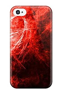 Iphone 4/4s Shapes Abstract Print High Quality Tpu Gel Frame Case Cover
