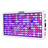 HIGROW Optical Lens-Series 1000W Full Spectrum LED Grow Light for Indoor Plants Veg and Flower, Garden Greenhouse Hydroponic Plant Growing Lights(12-Band 5W/LED)