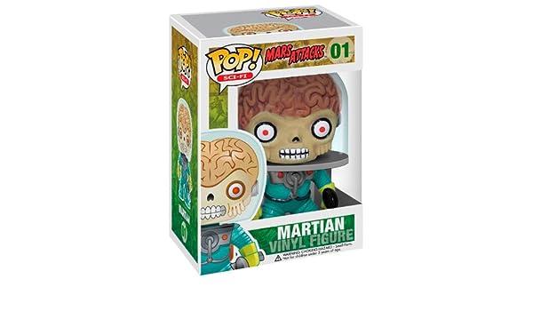 Funko - Figurine Mars Attacks Pop 10cm - 0830395026619: Amazon.es: Juguetes y juegos