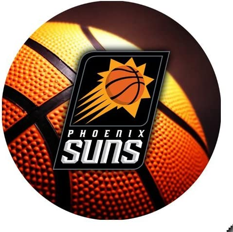 Suns Basketball Round Mousepad Mouse Pad Great Gift Idea Phoenix Office Products