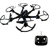 NiGHT LiONS TECH N57 18.1inch 6 Axis Multifunctional Super Big RC Quadcopter Drone For Outdoor Flying Headless Mode LED Light ( Black )