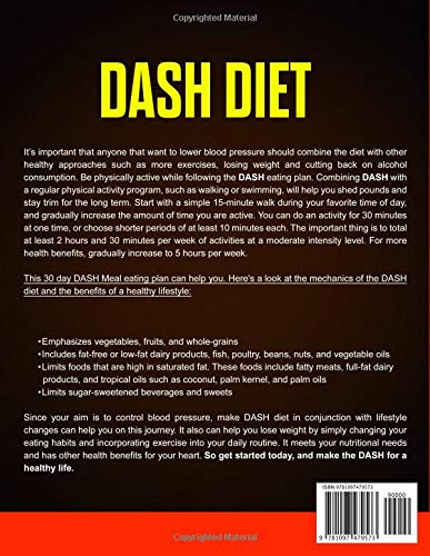 Dash Diet: The Complete Guide-111 Delicious Recipes, 30-Day