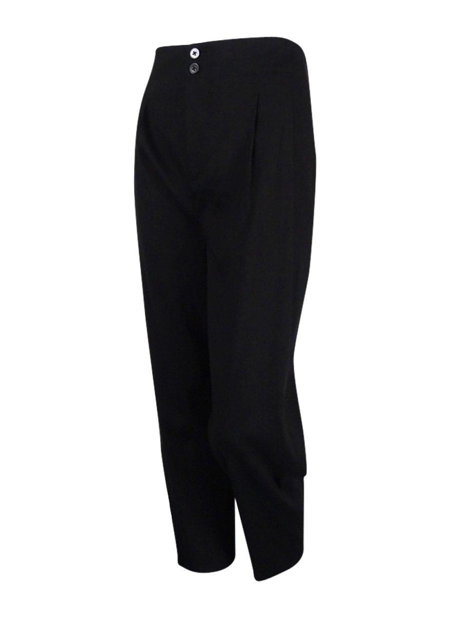 DKNY Women's Ankle Pants (8, Black)
