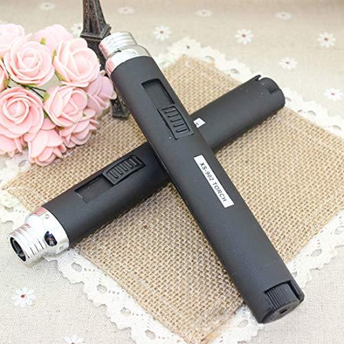 (Windshield Pen Welding Torch Outdoor Lighter Jet Flame Butane Gas Refill Lighter Welding Soldering Torch Pen)