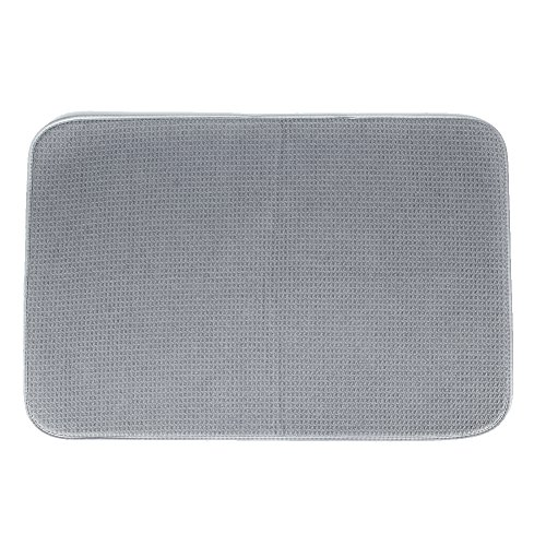 LHFLIVE Microfiber Dish Drying Mat For Kitchen 18 x 24 Inch