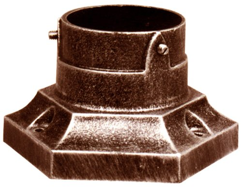 Special Lite Products SPB-170-CP Aluminum Stub Post Base, Copper