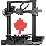 ��Official Creality Ender 3-V2 �� from Canadian local seller-Mech Solutions�� Ender-3 V2 3D Printer with Silent Motherboard Meanwell Power Supply Carborundum Glass Platform and Resume Printing 220x220x250mm+ 1kg PLA Pro Filament (Please contact us for this special offer)