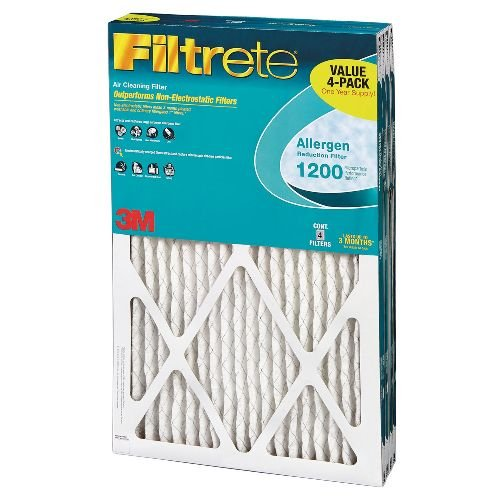 Filtrete Allergen Reduction Filter, 4-Pack
