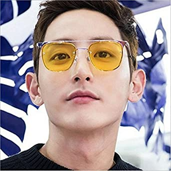 Fashional Sunglasses for Men/&Women Cat Eye Mirrored Flat Lenses Metal Frame Sunglasses