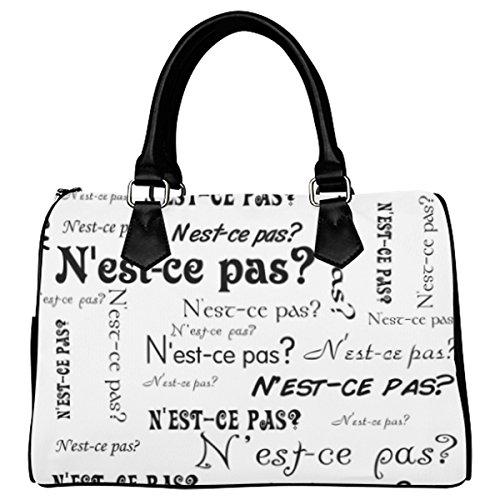 Jasonea Women Boston Handbag Top Handle Handbag Satchel Amazing Fractal Basad190221