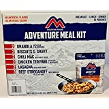 HM Mountain House Adventure Meal KIT, Breakfast - Lunch - Dinner, 13 Pouches