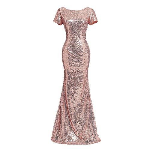 hot pink and black bridesmaids dresses - 7