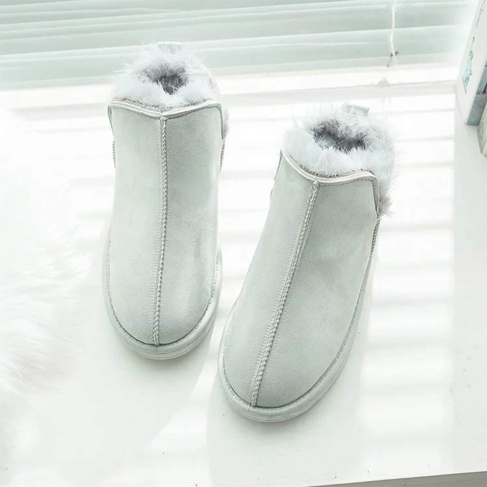 Women Girls Slip-on Lazy Boots KINDOYO Winter Snow Boots