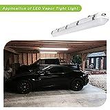 4FT LED Vapor Tight Light, 60W 6600lm Vapor Proof