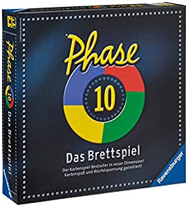 Ravensburger 27226 - Phase 10  Das Brettspiel