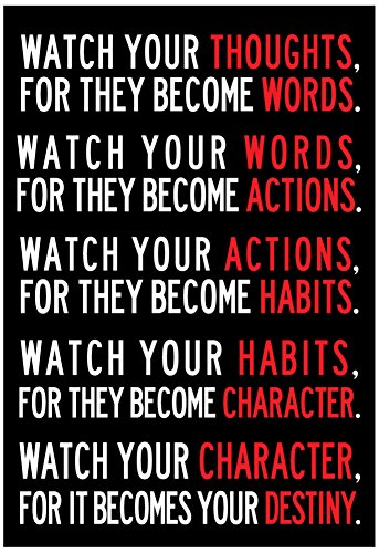 Watch Your Thoughts Motivational