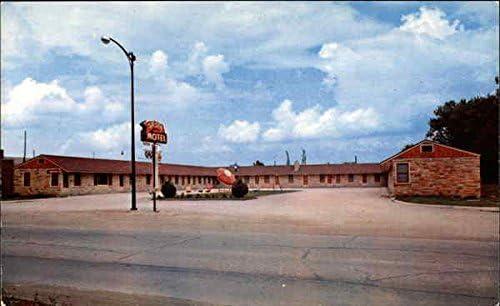 Siesta Motel Nevada Iowa Ia Original Vintage Postcard At Amazon S Entertainment Collectibles Store