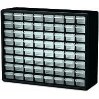 Akro-Mils 10164 64 Drawer Plastic Parts Storage Hardware...