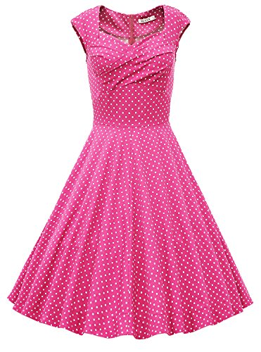 50s dresses hearts and roses - 7