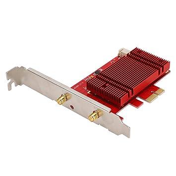 ASHATA Tarjeta de Red inalámbrica, Intel AX200NGW 2400Mbps ...