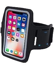 سوار ذراع مقاوم للتعرق لحمل الهاتف اثناء التمارين الرياضية من نوسينس ويتناسب مع ايفون Xs max وXR وX8 و7 و6 وS6 plus، ولسامسونج جالاكسي S9 وS8 وS7 وS6 Edge وNote 8 و5 وLG 5 G6
