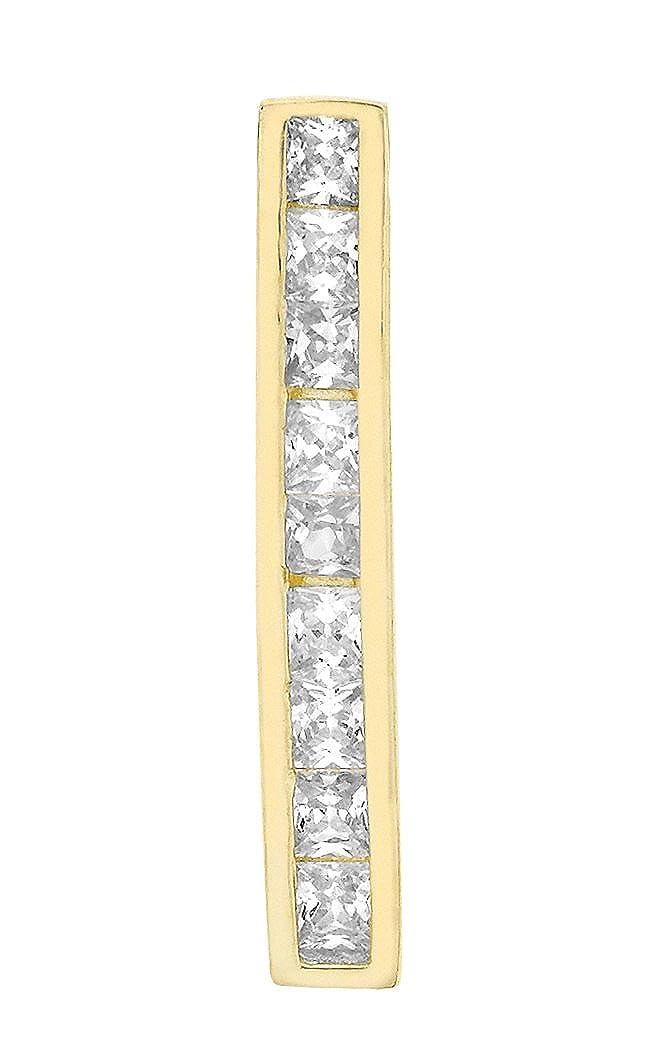 Carissima Gold Anhä nger in 9 Karat Gelbgold und Zirkonia Steine 1.62.7914
