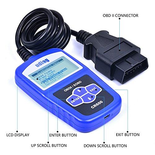 udiag OBD2 Scanner OBD Car Diagnostic Tool Obdii Scanners