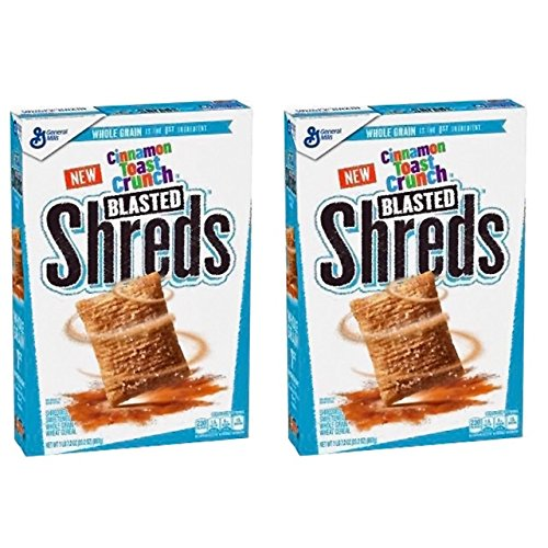 Cinnamon Toast Crunch Blasted Shreds, 2 Pack 23.2 oz. Boxes