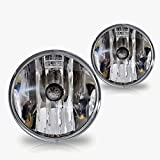 Premium 2pc Fog Lights Fit 07-11 Chevy Tahoe (W/Out Off Road Package);07-11 Chevy Avalanche (W/Out Off Road Packege) OEM Fog Lights - Clear Lens - Light bulb type 5202 13.05V 24W. (1 Pair includes both Driver & Passenger Sides.)