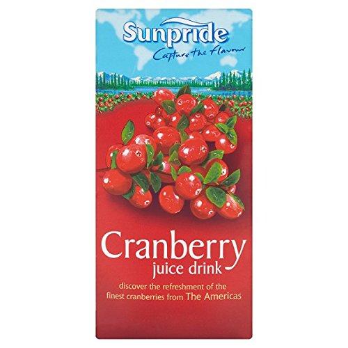 Sunpride Cranberry Juice Drink 1 Litre (Pack of 12 x 1ltr)