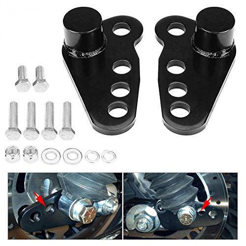 Motobiker 02-13 Harley Davidson TOURING STREET GLIDE Rear Adjustable Slam LOWERING KIT 1-3 inches 1