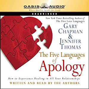 The Five Languages of Apology Audiobook
