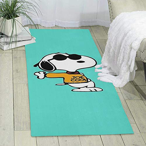 MOANDJI Cool Snoopy Area Rugs Fashion Carpet for Entry Runner 70