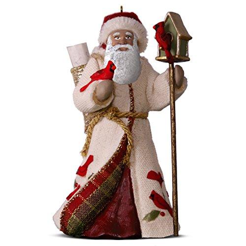 Hallmark Keepsake Christmas Ornament 2018 Year Dated, African American Happy Memories Father Christmas