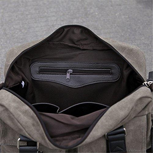 männer umhängetasche lässig sport fitness reisetasche packen?