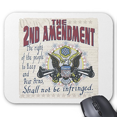 Control Arm Eagle - Zazzle Keep and Bear Arms Gun-toting Eagle Gear Mouse Pad