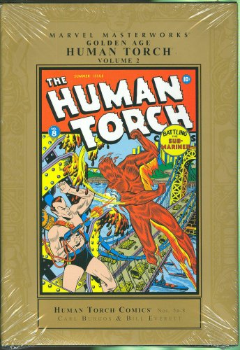 Marvel Masterworks Presents Golden Age Human Torch, Volume 2