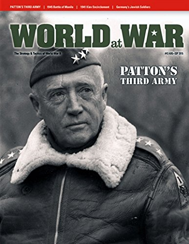DCG: World at War Magazine #43, with Patton's Third Army, Spearhead of Victory, Board Game