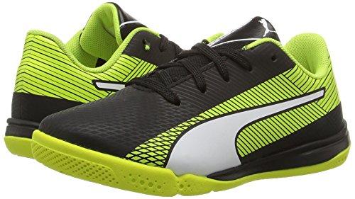 5 UK Yellow Evospeed PUMA JR Star puma Puma safety S Skate Shoe Black White 1 O6pU4U