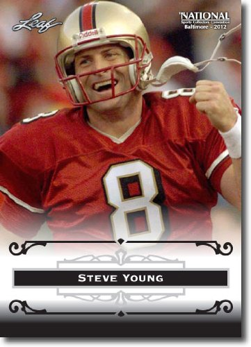 2012 Leaf HOF Baltimore National Sports Collector Promo #SY1 Steve Young - San Francisco 49ers (Football Hall of Fame)(Collectible Trading Card)
