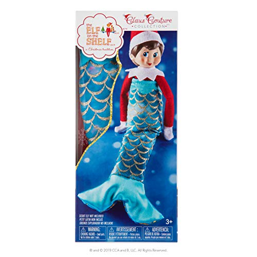 The Elf on the Shelf Claus Couture Merry Mermaid (Elf On The Shelf Clothes For Elves)