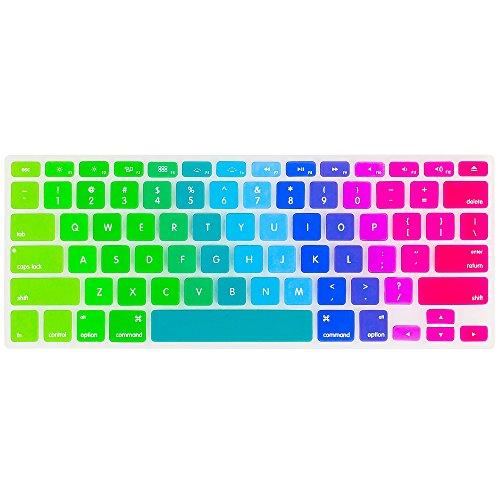 Kuzy Rainbow Keyboard Silicone MacBook