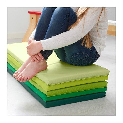 Children's Foam Folding Gym Mat, Green, Plufsig by IKEA by IKEA (Image #3)