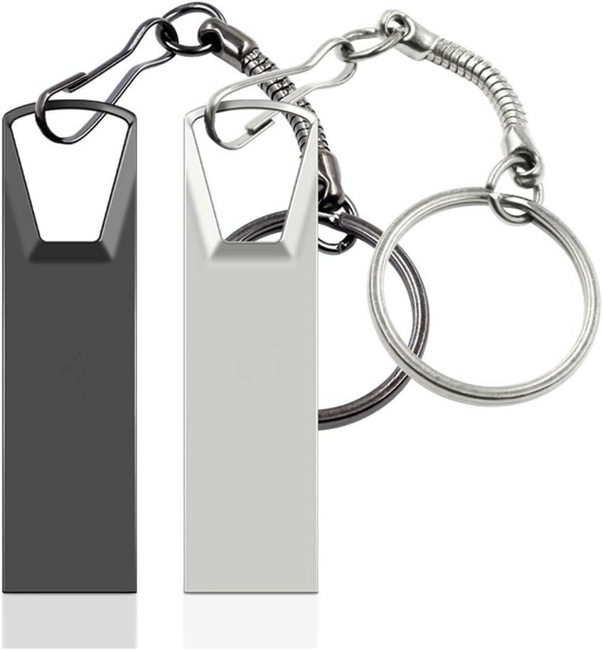 64GB, Grigio FeliSun Pendrive Chiavetta USB 3.0 Impermeabile Memory Stick Data Traveler Thumb Drive JumpDrive