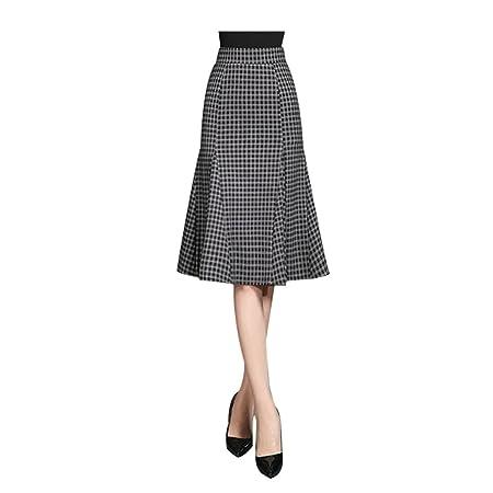 JIN PING® Faldas, una fuente de tipo faldas en el otoño y el ...