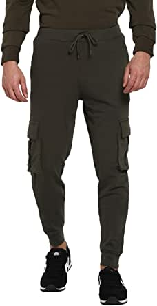 hummel Slim Fit Pant for Men, Color Khaki - Size S