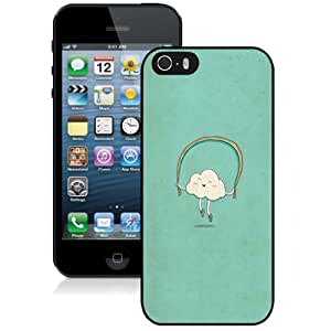 Beautiful Custom Designed Cover Case For iPhone 5S With Cute Cartoon Cloud Phone Case Cover